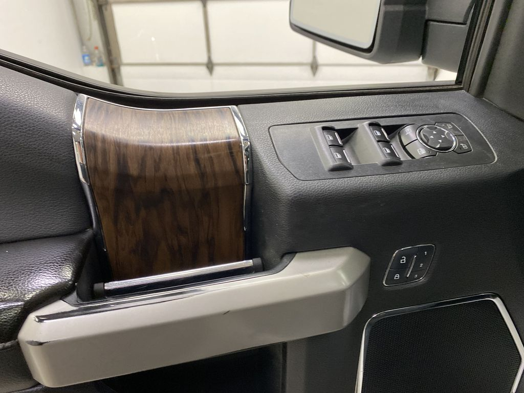 White[Oxford White] 2018 Ford F-150  Driver's Side Door Controls Photo in Dartmouth NS