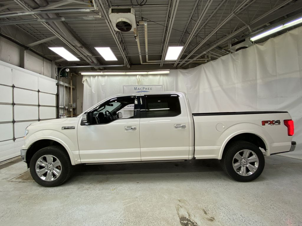 White[Oxford White] 2018 Ford F-150 Left Side Photo in Dartmouth NS
