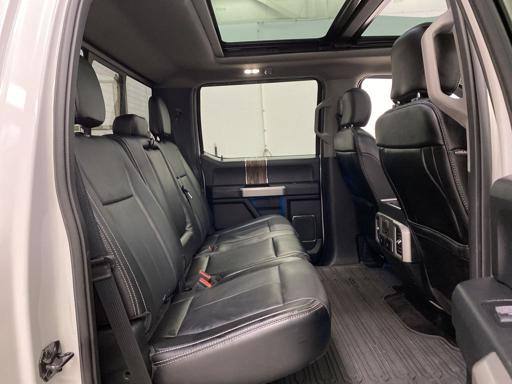 White[Oxford White] 2018 Ford F-150 Right Side Rear Seat  Photo in Dartmouth NS