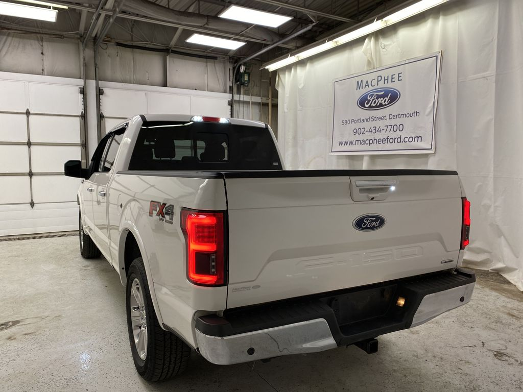 White[Oxford White] 2018 Ford F-150 Rear of Vehicle Photo in Dartmouth NS