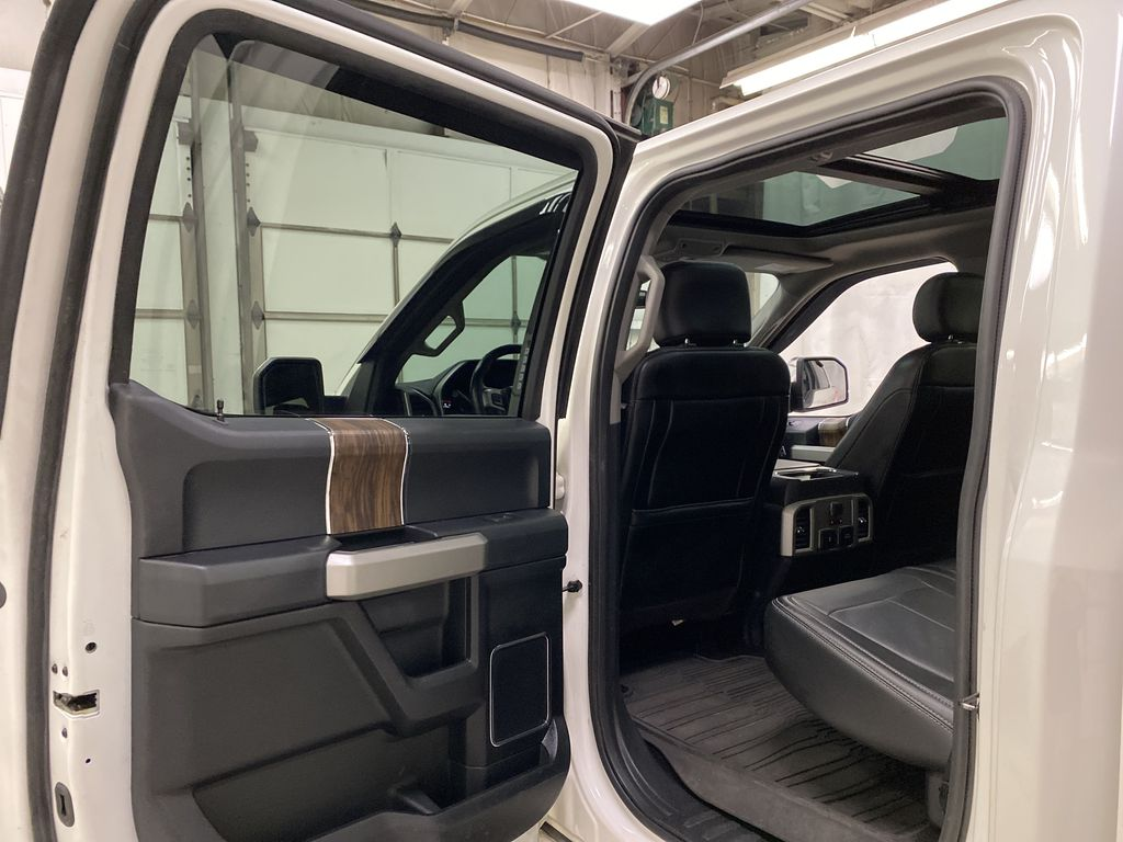 White[Oxford White] 2018 Ford F-150 Left Rear Interior Door Panel Photo in Dartmouth NS