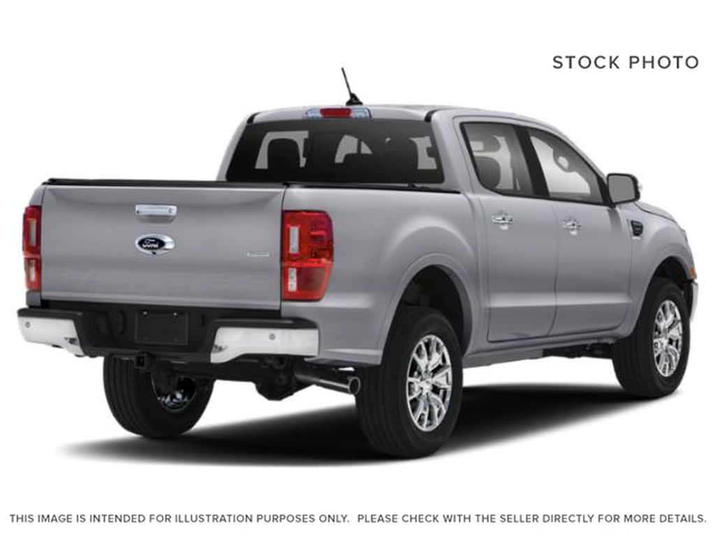 Silver[Iconic Silver Metallic] 2021 Ford Ranger Right Rear Corner Photo in Dartmouth NS
