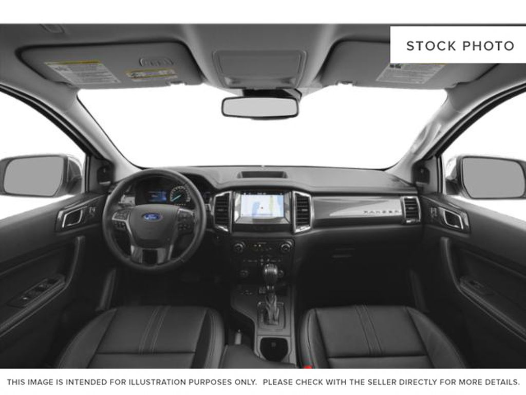 Silver[Iconic Silver Metallic] 2021 Ford Ranger Central Dash Options Photo in Dartmouth NS