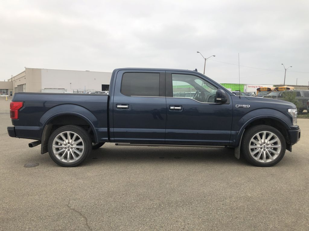 Blue[Blue Jeans Metallic] 2018 Ford F-150 Right Side Photo in Edmonton AB