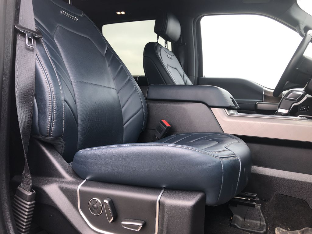 Blue[Blue Jeans Metallic] 2018 Ford F-150 Right Side Front Seat  Photo in Edmonton AB