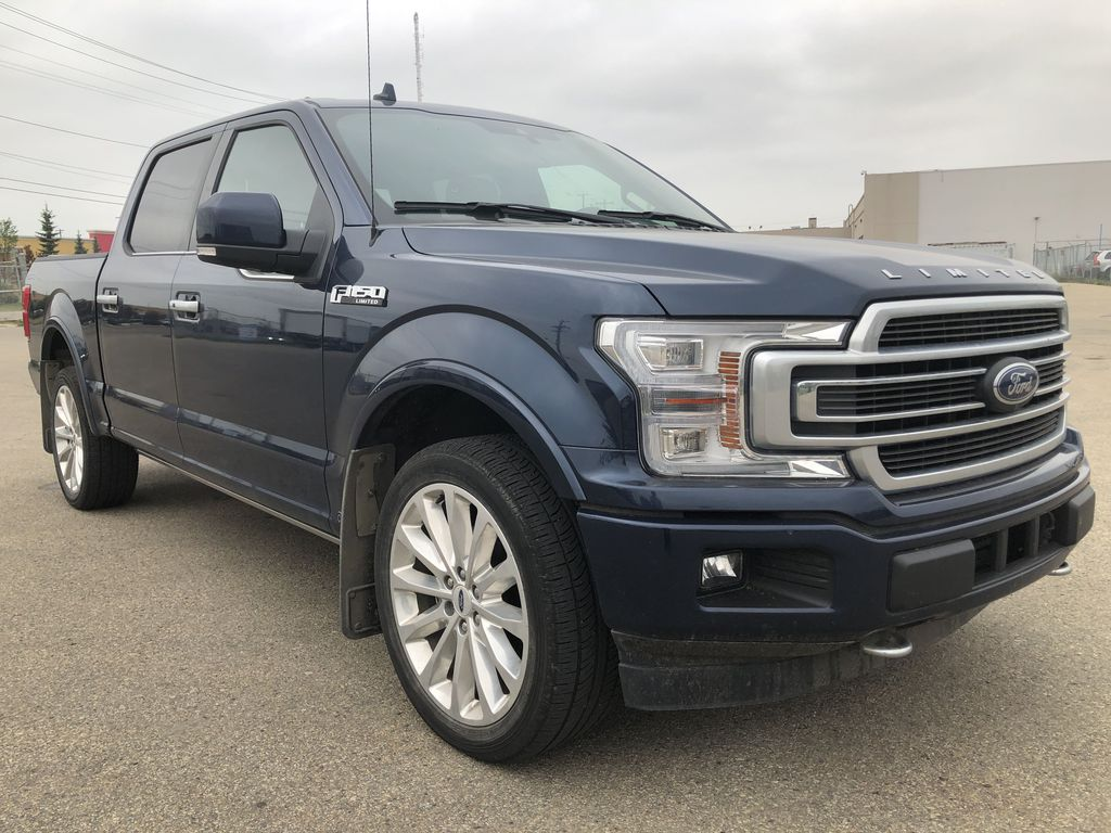 Blue[Blue Jeans Metallic] 2018 Ford F-150 Right Front Corner Photo in Edmonton AB