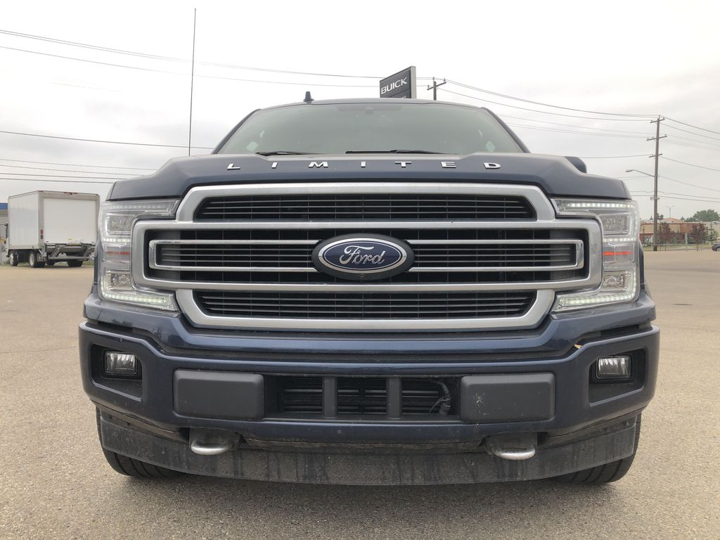 Blue[Blue Jeans Metallic] 2018 Ford F-150 Front Vehicle Photo in Edmonton AB