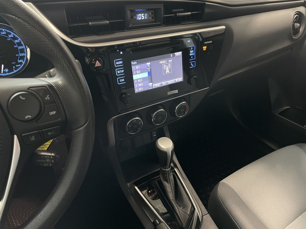 Gray 2017 Toyota Corolla CE Right Side Front Seat  Photo in Edmonton AB