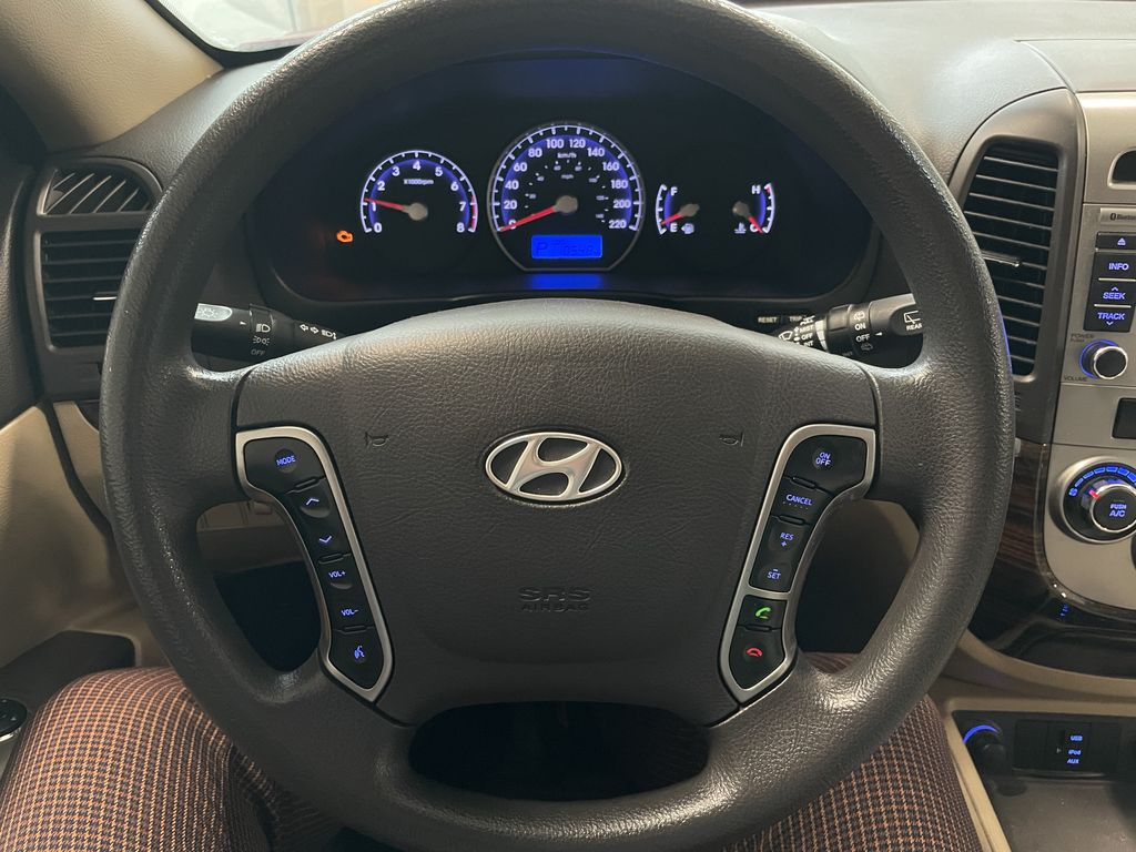 Red 2010 Hyundai Santa Fe GL Right Side Front Seat  Photo in Edmonton AB
