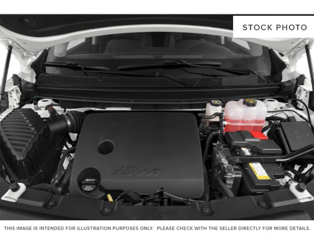 White[Iridescent Pearl Tricoat] 2019 Chevrolet Traverse Engine Compartment Photo in Fort Macleod AB