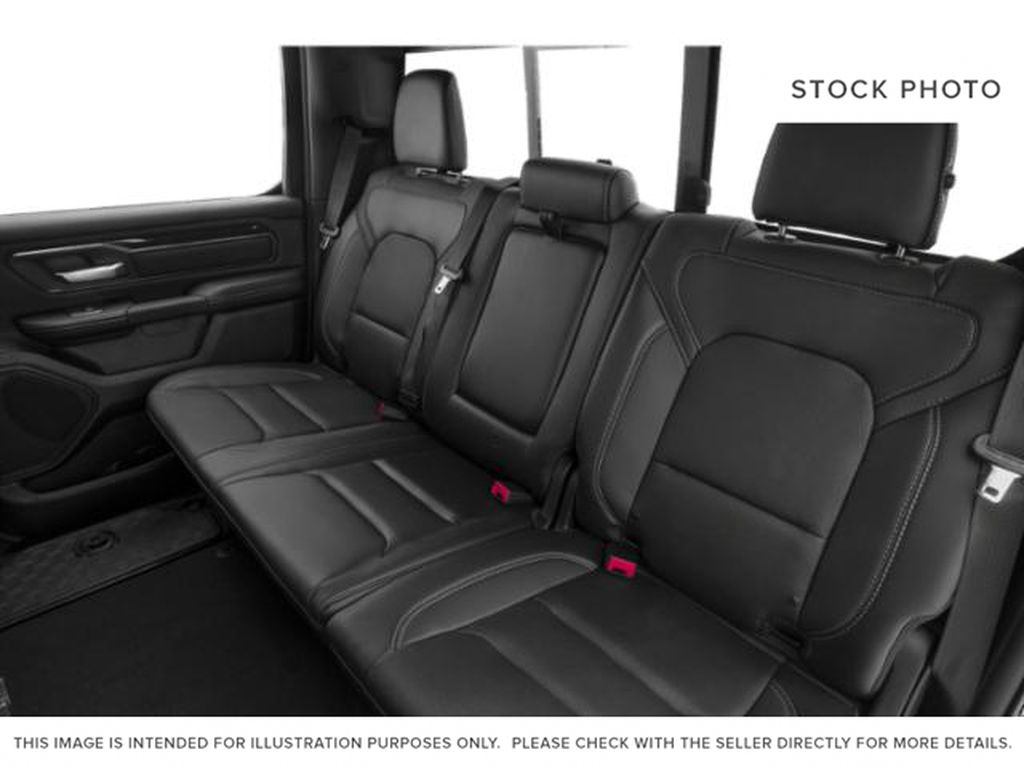 Red[Flame Red] 2019 Ram 1500 Left Side Rear Seat  Photo in Fort Macleod AB
