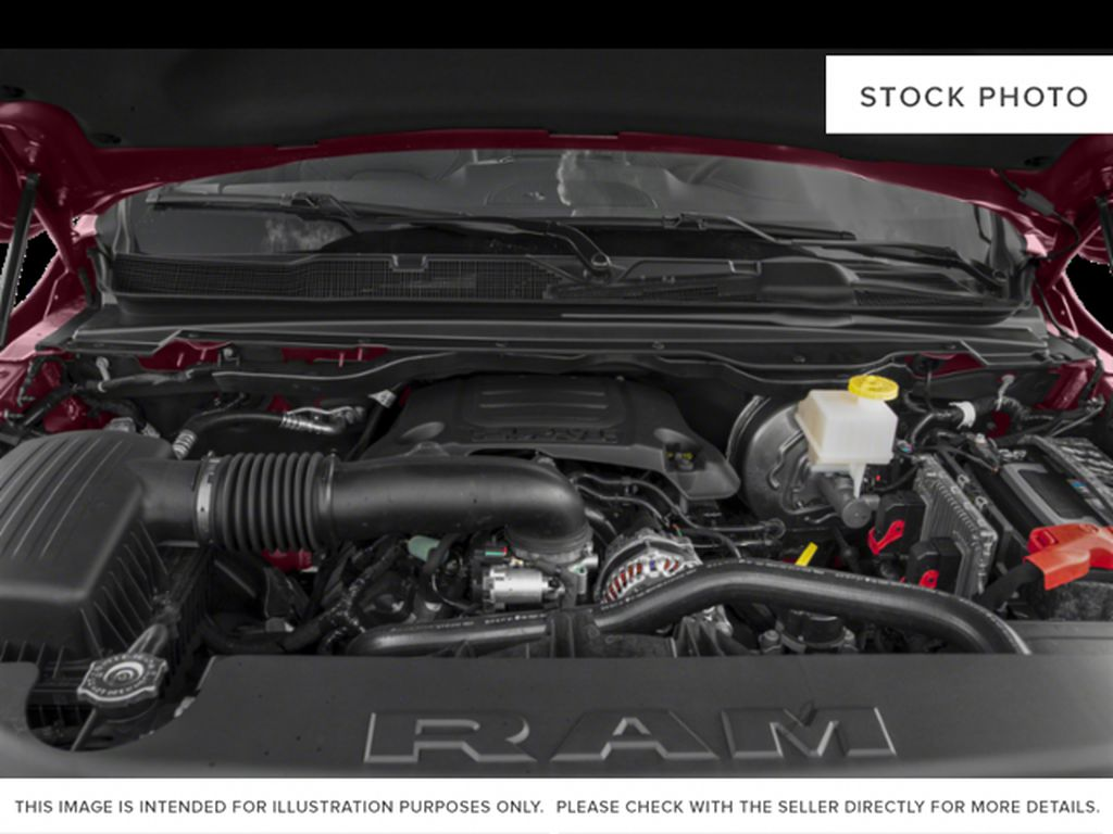 Red[Flame Red] 2019 Ram 1500 Engine Compartment Photo in Fort Macleod AB