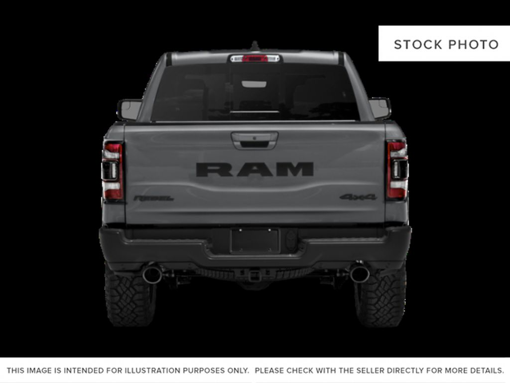 Red[Flame Red] 2019 Ram 1500 Rear of Vehicle Photo in Fort Macleod AB