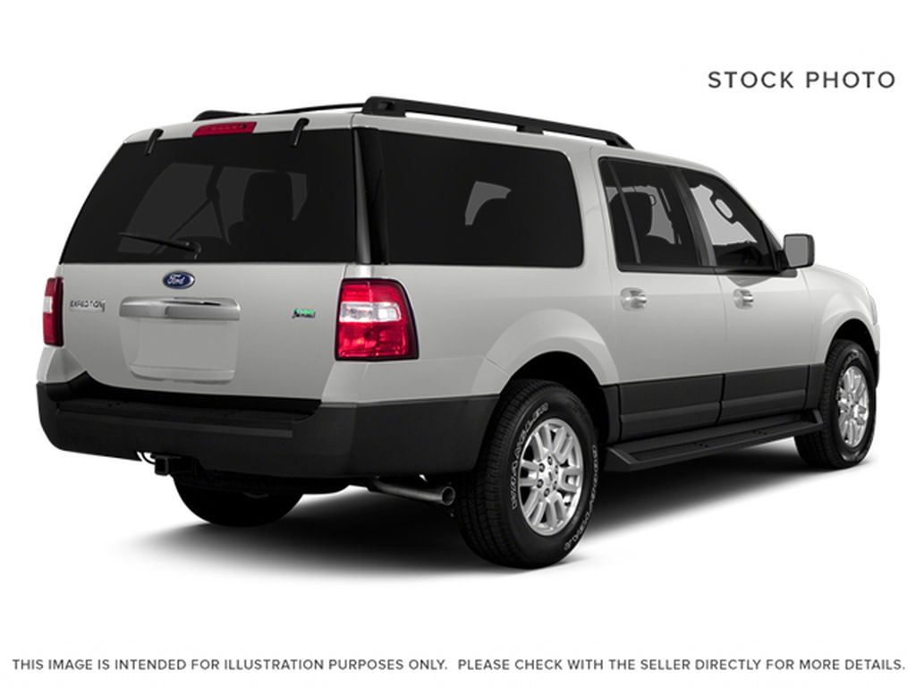 White[White Platinum Metallic Tri-Coat] 2014 Ford Expedition Max Right Rear Corner Photo in Fort Macleod AB