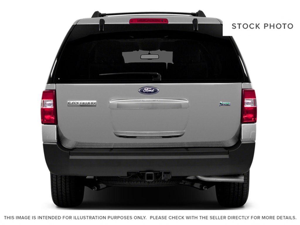 White[White Platinum Metallic Tri-Coat] 2014 Ford Expedition Max Rear of Vehicle Photo in Fort Macleod AB
