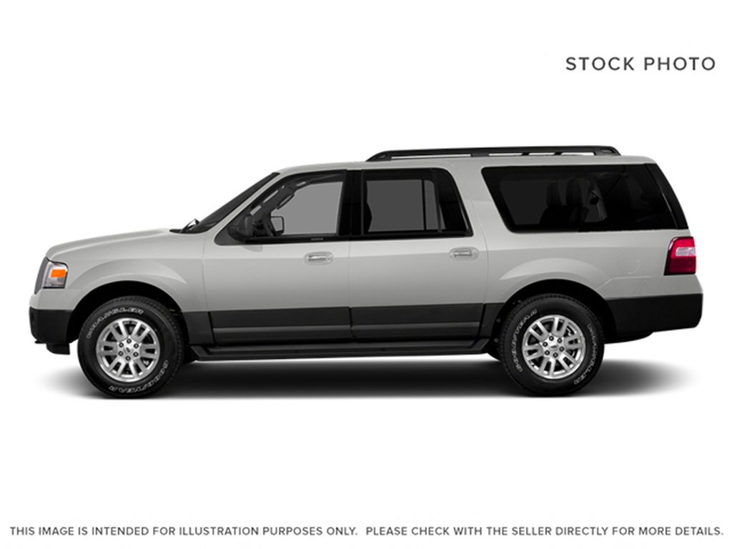 White[White Platinum Metallic Tri-Coat] 2014 Ford Expedition Max Left Side Photo in Fort Macleod AB
