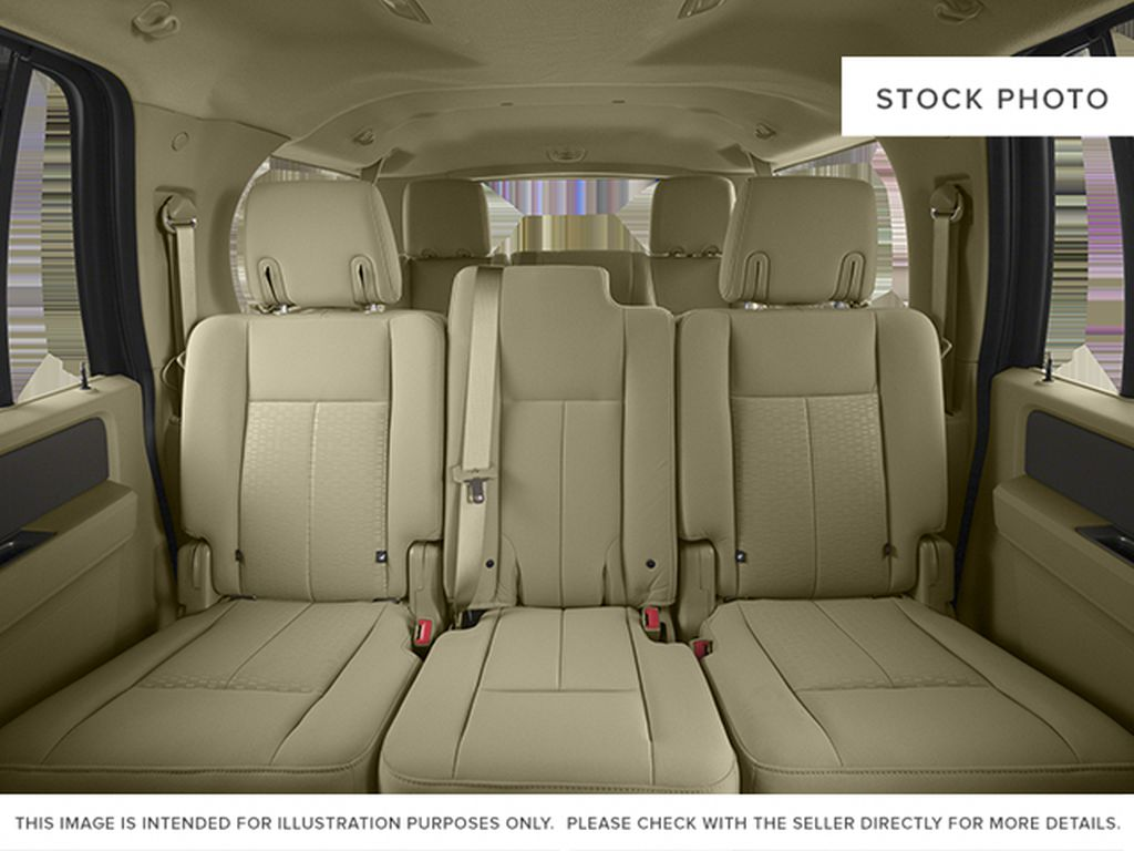 White[White Platinum Metallic Tri-Coat] 2014 Ford Expedition Max Left Side Rear Seat  Photo in Fort Macleod AB