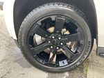 White[White Frost Tricoat] 2019 GMC Yukon SLT Left Front Rim and Tire Photo in Calgary AB