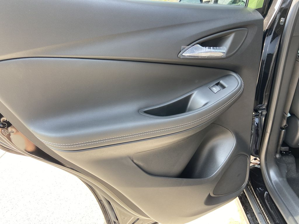 Black[Ebony Twilight Metallic] 2022 Buick Encore GX Essence Left Rear Interior Door Panel Photo in Calgary AB