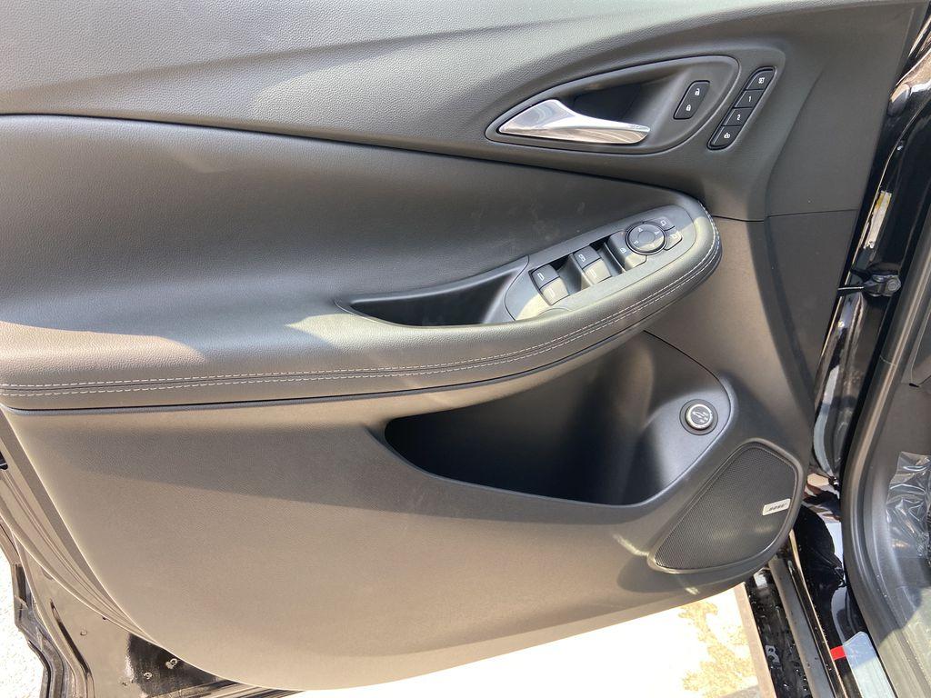 Black[Ebony Twilight Metallic] 2022 Buick Encore GX Essence Left Front Interior Door Panel Photo in Calgary AB
