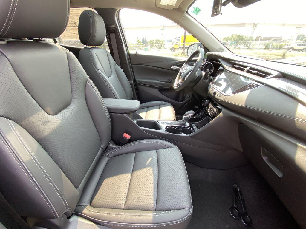 Black[Ebony Twilight Metallic] 2022 Buick Encore GX Essence Right Side Front Seat  Photo in Calgary AB
