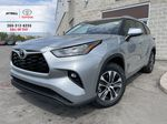 Silver[Celestial Silver Metallic] 2021 Toyota Highlander AWD XLE Package GZRBHT AM Primary Photo in Brampton ON