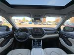Blue[Blueprint] 2021 Toyota Highlander AWD XLE Package GZRBHT AK Right Side Front Seat  Photo in Brampton ON