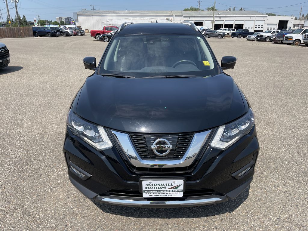 2017 Nissan Rogue AWD 4dr S *Ltd Avail* *Heated Wheel/Seats * Nav *Sunroof* Front Vehicle Photo in Brandon MB