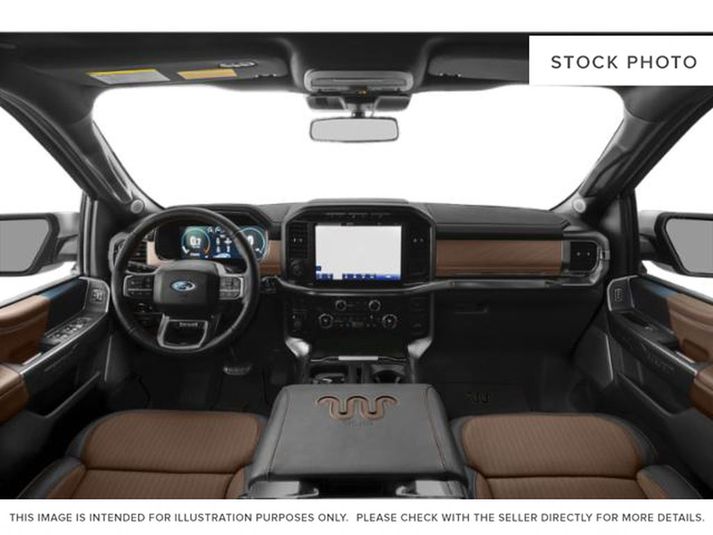 White[Oxford White] 2021 Ford F-150 Central Dash Options Photo in Dartmouth NS