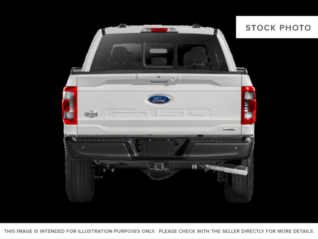 White[Oxford White] 2021 Ford F-150 Rear of Vehicle Photo in Dartmouth NS