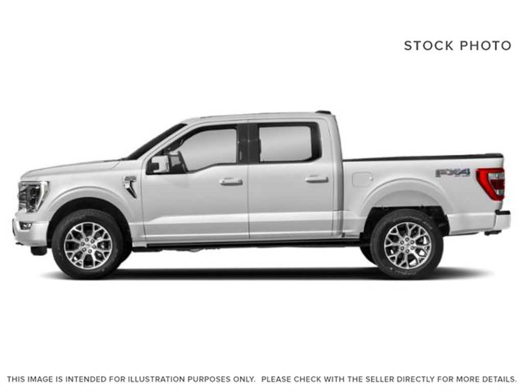 White[Oxford White] 2021 Ford F-150 Left Side Photo in Dartmouth NS