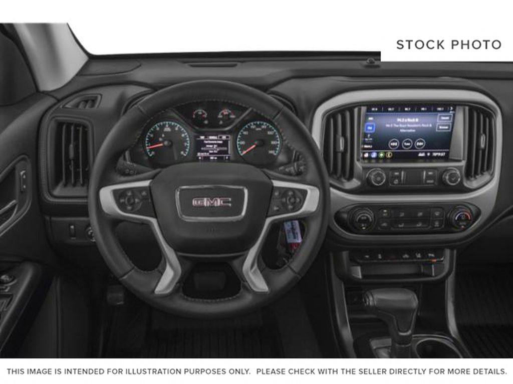 2021 GMC Canyon Steering Wheel and Dash Photo in Medicine Hat AB