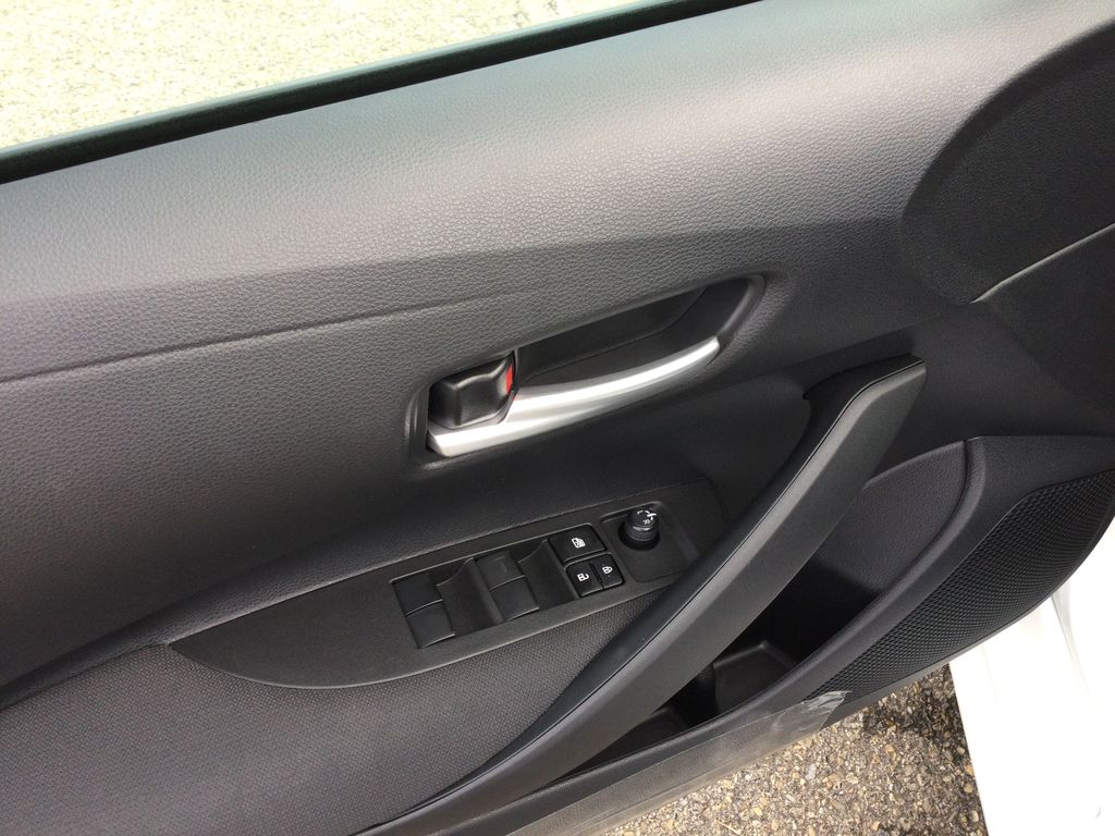 White[Blizzard Pearl] 2021 Toyota Corolla  Driver's Side Door Controls Photo in Brockville ON