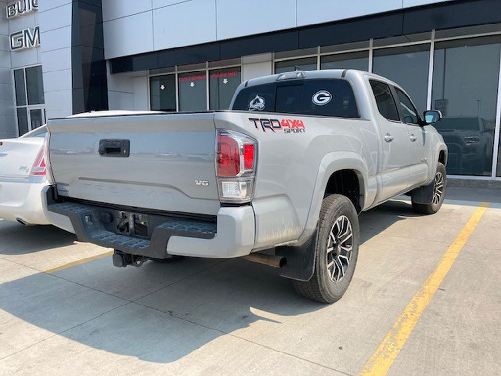 Grey 2020 Toyota Tacoma Left Front Rim and Tire Photo in Lethbridge AB