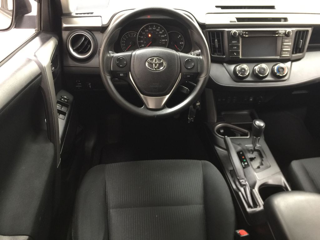 Silver[Silver Sky Metallic] 2016 Toyota RAV4 LE AWD Left Front Seat Photo in Sherwood Park AB