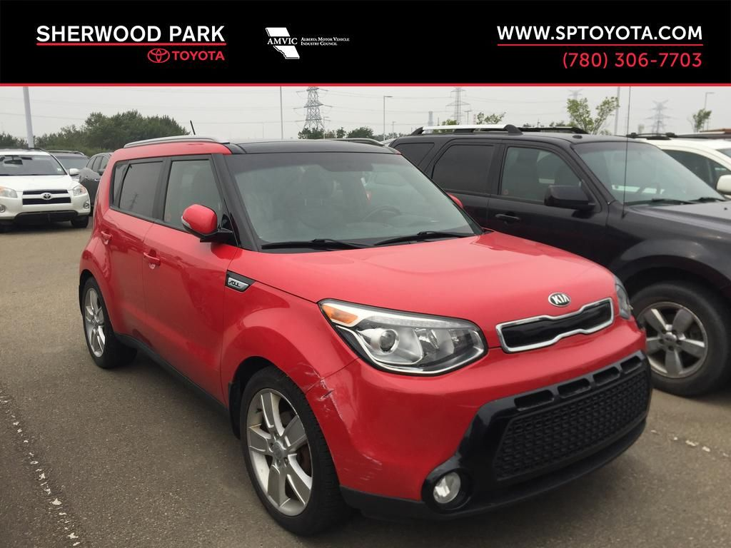 Red[Inferno Red] 2015 Kia Soul SX HATCHBACK