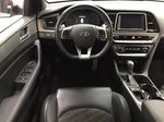 Silver[Platinum Silver] 2019 Hyundai Sonata SPORT PACKAGE Left Front Seat Photo in Sherwood Park AB