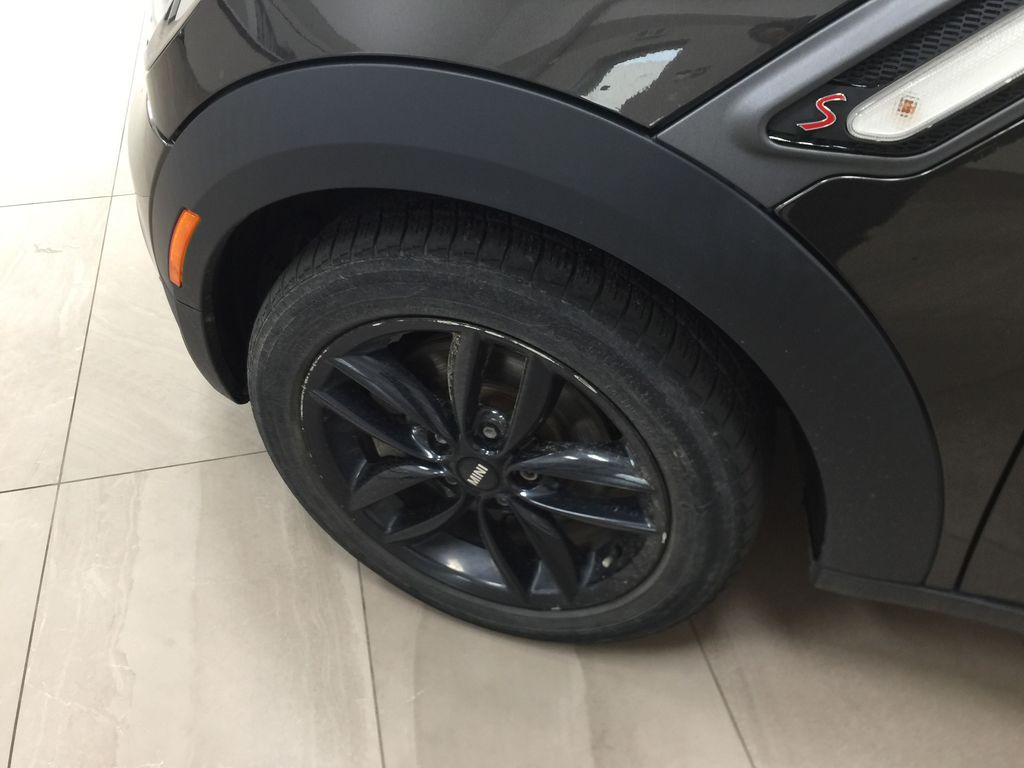 Silver[Crystal Silver Metallic] 2015 MINI Cooper Paceman AWD Left Front Rim and Tire Photo in Sherwood Park AB