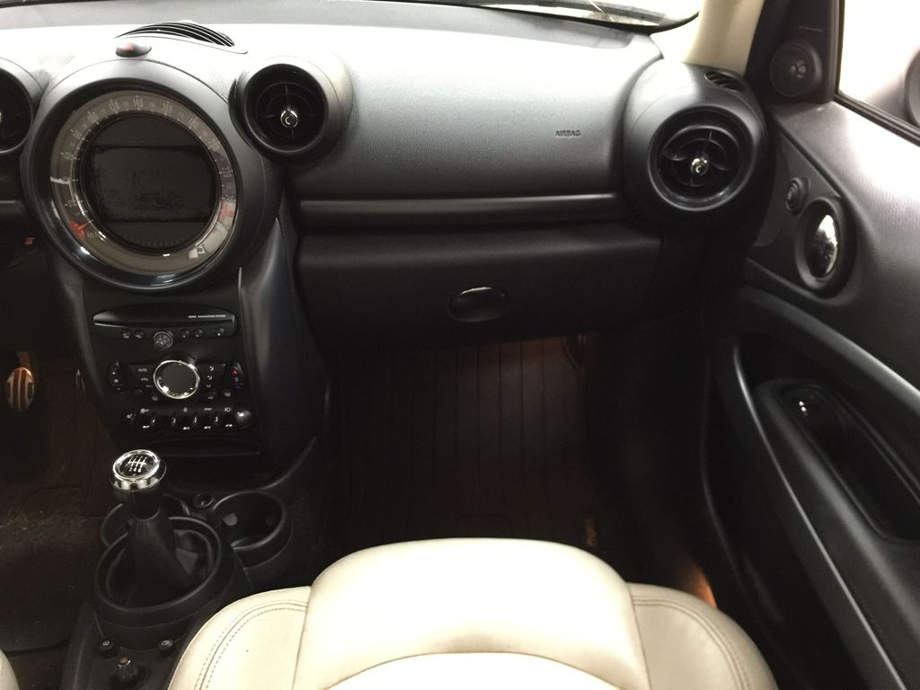 Silver[Crystal Silver Metallic] 2015 MINI Cooper Paceman AWD Right Front Seat Photo in Sherwood Park AB
