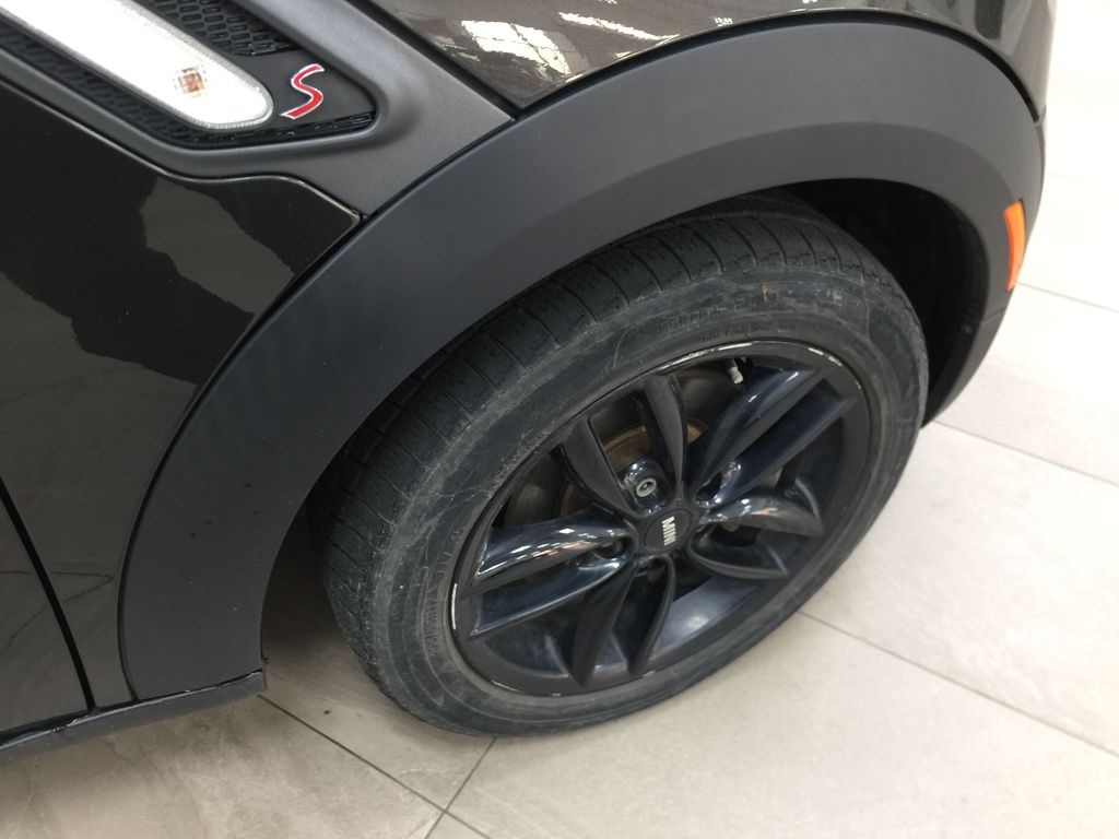 Silver[Crystal Silver Metallic] 2015 MINI Cooper Paceman AWD Right Front Rim and Tire Photo in Sherwood Park AB