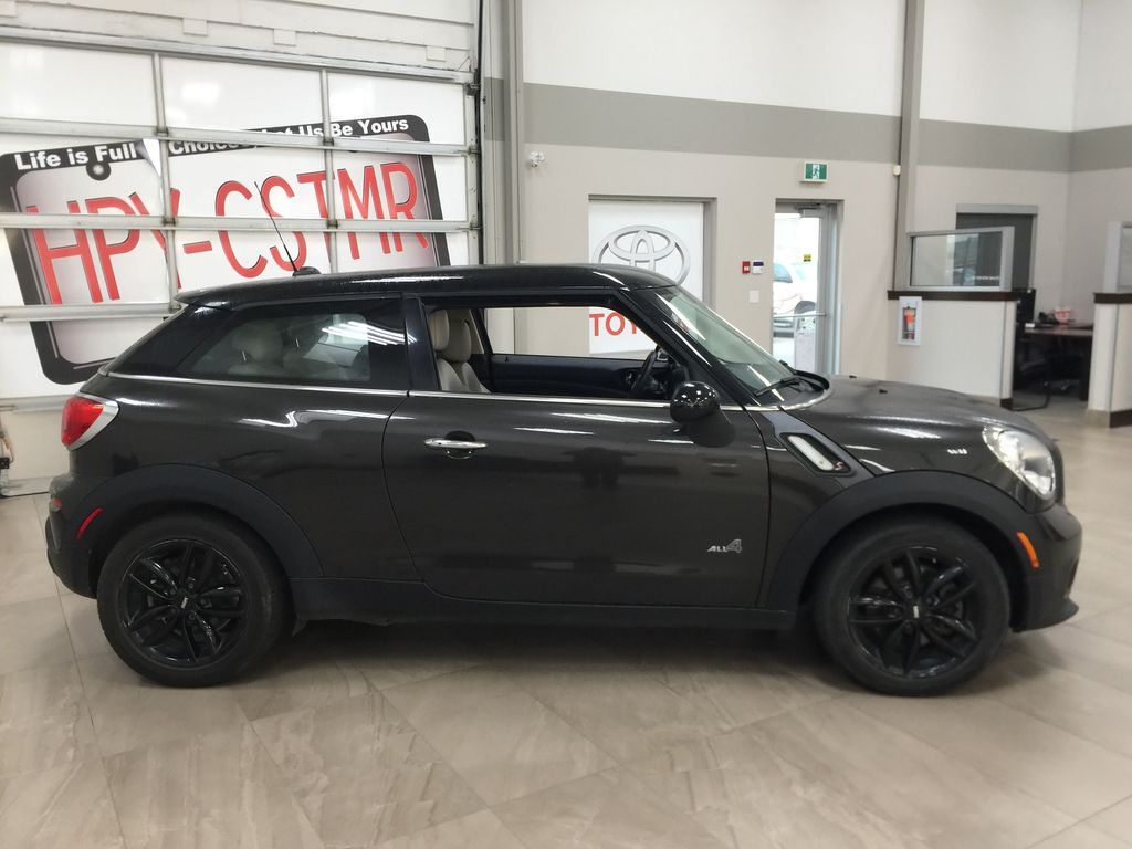Silver[Crystal Silver Metallic] 2015 MINI Cooper Paceman AWD Right Side Photo in Sherwood Park AB