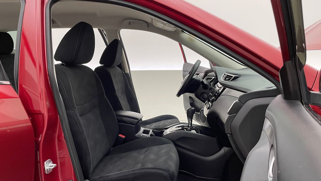 Red[Cayenne Red Metallic] 2016 Nissan Rogue SV AWD - Heated Seats, Backup Camera, Alloy Wheels Right Side Front Seat  Photo in Winnipeg MB