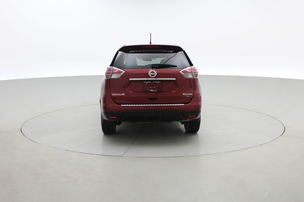Red[Cayenne Red Metallic] 2016 Nissan Rogue SV AWD - Heated Seats, Backup Camera, Alloy Wheels Rear of Vehicle Photo in Winnipeg MB