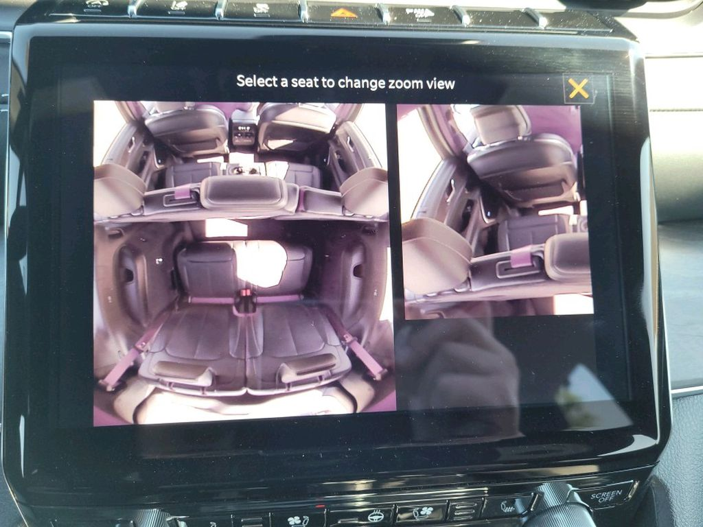 Black 2021 Jeep Grand Cherokee L Strng Wheel/Dash Photo: Frm Rear in Fort Macleod AB