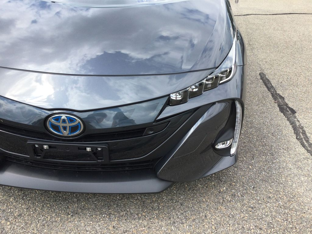 Gray[Magnetic Grey Metallic] 2022 Toyota Prius Prime Left Front Head Light / Bumper and Grill in Brockville ON
