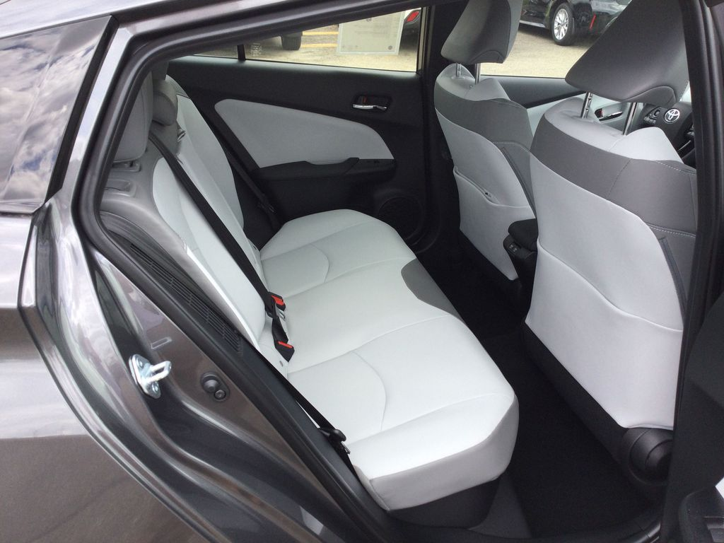 Gray[Magnetic Grey Metallic] 2022 Toyota Prius Prime Right Side Rear Seat  Photo in Brockville ON