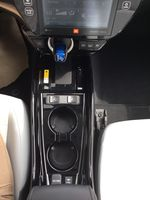 Gray[Magnetic Grey Metallic] 2022 Toyota Prius Prime Center Console Photo in Brockville ON