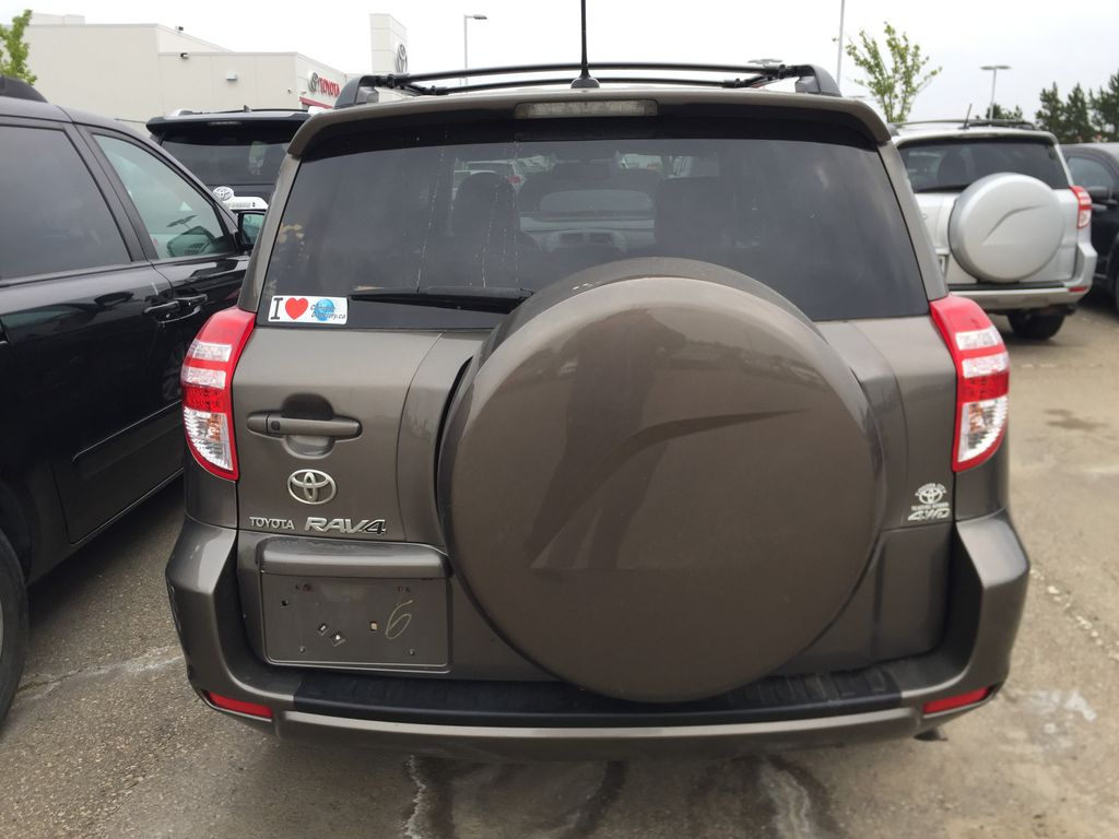 BROWN 2009 Toyota RAV4 LIMITED Rear of Vehicle Photo in Sherwood Park AB