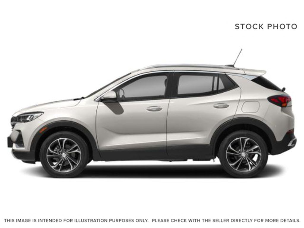 White[White Frost Tricoat] 2022 Buick Encore GX Left Side Photo in Edmonton AB