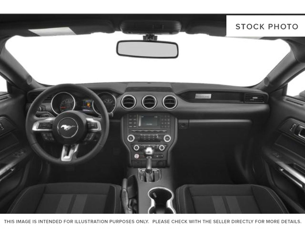Black[Shadow Black] 2019 Ford Mustang Central Dash Options Photo in Dartmouth NS